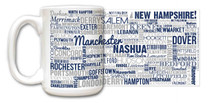 New HampshireState Mug