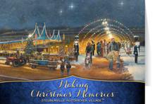 Nutcracker Village: Making Christmas Memories Card