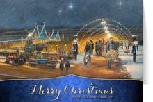 Nutcracker Village: Merry Christmas Card