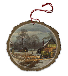 Country Partners Wood Ornament