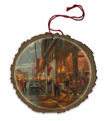 Gem City Wood Ornament