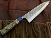 Teruyasu Fujiwara Nishiji Gyuto Knife 210mm - Custom Handle