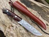 Nomura Camp Knife White #2 Steel & Ironwood