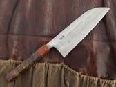 Teruyasu Fujiwara Santoku Knife 165mm - Custom Handle