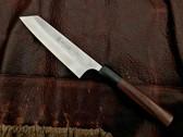 Kato Damascus Petty Utility Knife - Ko-Bunka Style