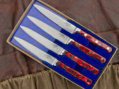 Lamson Steak Knife Set - Fire Steak Knives