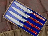 Lamson Steak Knife Set - Fire Steak Knives