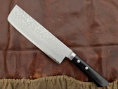 Masutani VG-10 Nakiri Knife - 165mm - Western Handle