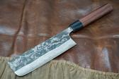 Ogata Nakiri Vegetable Knife 165mm - Damascus-Clad Shirogami #2