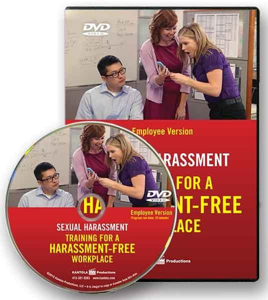 Sexual Harassment: Training for a Harassment-Free Workplace — Employee Version (Video)