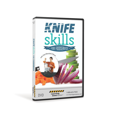 Knife Skills for Foodservice and Culinary Video
