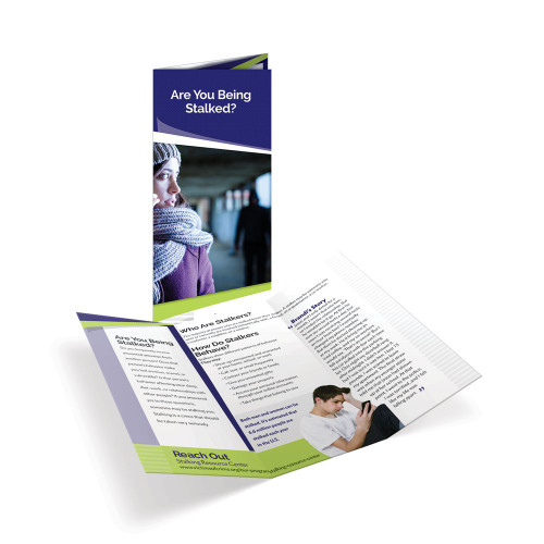 Are You Being Stalked? Tri-Fold Brochures
