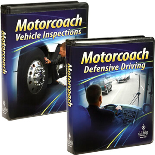 Motorcoach Driver Training 2-Pack - DVD Training