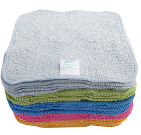 Rainbow Terry Cotton Cheeky Wipes