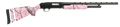 "MOSSBERG 500 Super Bantam™ All Purpose 20 Gauge, 22"" Barrel,Pink Marble Finish, Adjustable Synthetic Stock, Item #54147"