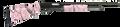 "MOSSBERG 500 Super Bantam™ All Purpose 20 Gauge, 22"" Barrel,Pink Marble Finish, Adjustable Synthetic Stock, Item #54147"