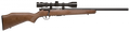 "Savage 96222 93R17GVXP Bolt 17 HMR 21"" 5+1 Walnut Stk Blued w/Scope"