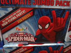 Ultimate Spiderman Party Decorations 206 Pieces | Fairdinks