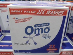 Omo Double Concentrate Top Load 2 x 5KG | Fairdinks