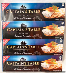 Nabisco Captains Table Water Crackers 6 x 125g | Fairdinks