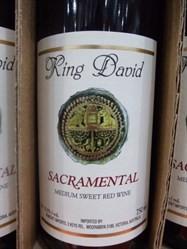 King David Sacramental Kosher Med Sweet Red Wine 750ml | Fairdinks