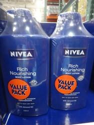 Nivea Body Nourishing Lotion 2 x 1   Fairdinks