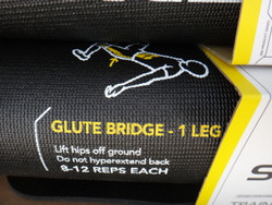Sklz Trainer Mat With Printed Exercises