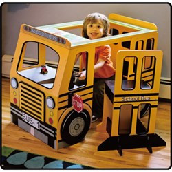 Kenyield School Bus Play Centre With Horn And Accessories | Fairdinks