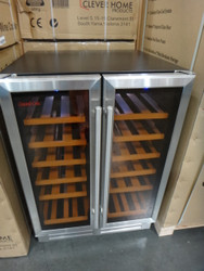 Grand Cru 36 Bottle 2 Door Fridge Dual Wine Temp Zones | Fairdinks