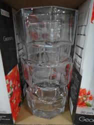 Mann Geometry Glass Vase 30CM - 1 | Fairdinks