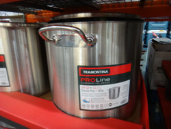 Tramontina Pro Line Stock Pot With Lid 22.7 Litres | Fairdinks