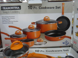 Tramontina Coloured Nonstick Cookware Set of 10 Piece - 1 | Fairdinks