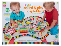 Alex Toys Sound and Play Busy Table With Xylophone and Drum - 1 | Fairdinks