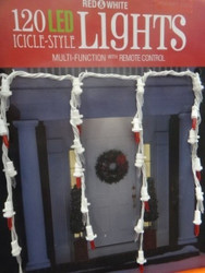 LED Icicle Light 120 Count With Wireless Remote Control - 1 | Fairdinks