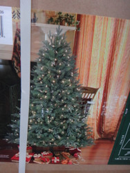 5 Foot Artificial Christmas Tree Pre-Lit LED 350 CT - 1 | Fairdinks