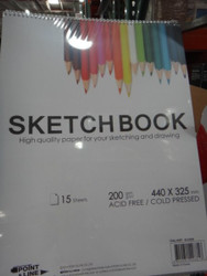 Point and Line Sketch Books 6 Pack - 1  Fairdinks
