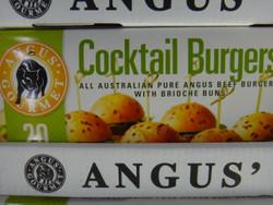 Angus Gourmet Cocktail Burgers DIY Kit 20PK (900G) | Fairdinks