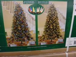 7.5 Foot Artificial Christmas Tree Pre-lit 2 Tone LED 780CT   Fairdinks