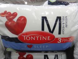 Tontine I Love Sleep 3PK Pillow   Fairdinks