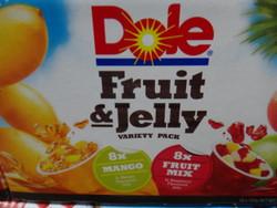 Dole Fruit & Jelly Variety PK 16 x 113G   Fairdinks