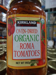 Kirkland Signature Oven Dried Organic Roma Tomatoes 992G   Fairdinks