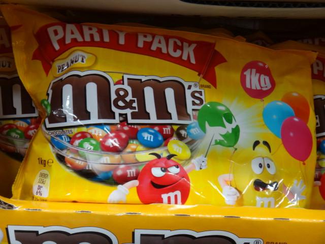 M&M's Peanut Party Pack 1KG |Fairdinks