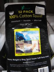 Terry Towel Cotton 52 Pack | Fairdinks