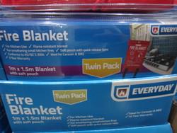 Everyday Fire Blanket 1 x 1.5M 2 Pack - 1 | Fairdinks