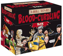 Horrible Histories Blood-Curdling Box of Books - 1   Fairdinks
