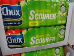 Chux Heavy Duty Scourer Pads 12 Pack | Fairdinks