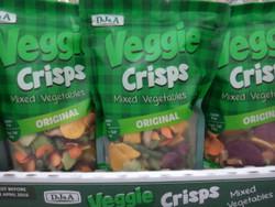 DJ&A Veggie Crisps 250G   Fairdinks