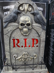 """Halloween 31"""" Tombstone With Lights And Sounds - 1 