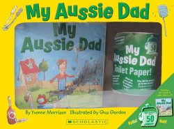 My Aussie Dad Picture Book and Toilet Roll Boxset | Fairdinks
