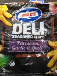 Birds Eye Deli Chips Parmesan Garlic & Basil 1.5KG | Fairdinks